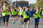 Kaitao Middle School students top off their Cactus programme with a finale truck pull on Saturday. Photo/Stephen Parker