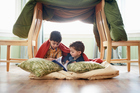 Encourage fort-building these holidays. Photo / Thinkstock