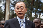 United Nations Secretary General Ban Ki-moon. Photo / AP
