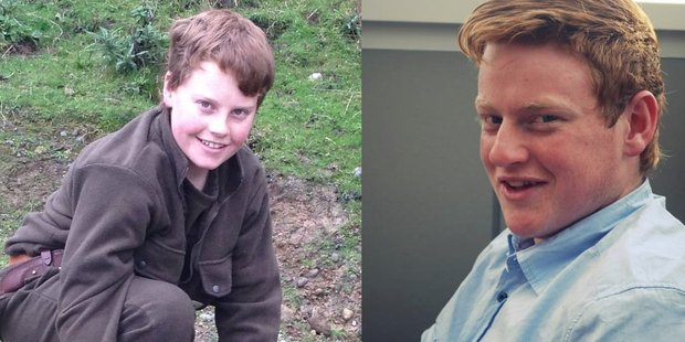 Tauherenikau brothers, from left, Angus (Gus) Donald, 15, and Sam Donald, 19, who died after a road crash on Western Lake Road on Thursday. PHOTO SUPPLIED