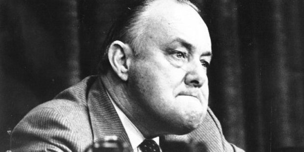 Former Prime Minister Robert Muldoon. File photo / NZ Herald