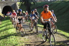 More than 800 cyclists took part inn the opening of the Kaikohe-Okaihau leg of Pou Herenga Tai Twin Coast Cycle Trial in 2011.