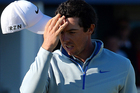 Rory McIlroy squandered an overnight lead to be six shots off the pace at the end of day two of the Scottish Open. Photo / Getty Images