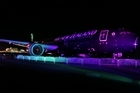 Air New Zealand has received it's first Dreamliner in a Seattle ceremony before it's flown home to Auckland airport.