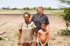 Havelock North woman Jane Muller is appealing for Hawke's Bay people to help southern Cambodia people avert a food crisis due to a late rainy season.