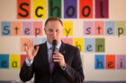John Key's rapid reversal of a 2012 Budget decision to increase intermediate class sizes was the judgment of a Prime Minister who had not been unnerved. Photo / Greg Bowker