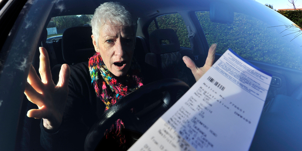 Forty dollars for parking without paying! It's a scandal, says Viv Sowerby.