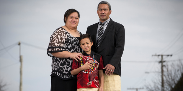 Young patients such as Asisi Kaufusi, pictured with parents Sione and Estelle, will benefit from Starship's modernised facilities. Photo / Greg Bowker