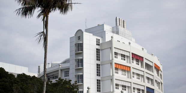 The central Auckland hospital, which serves Aucklanders and also provides surgery and medical care for many patients from throughout the country, is 22 years old. Photo / Greg Bowker