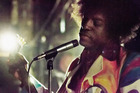 Andre 3000 of Outkast as Jimi Hendrix in movie 'Jimi: All is By Mine'.