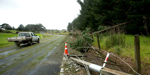 Power was restored to thousands of customers yesterday, including to almost all of Waiheke Island. Photo / Dean Purcell
