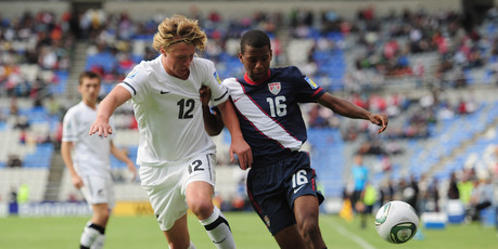 Jesse Edge of New Zealand during the FIFA U-17 World Cup
