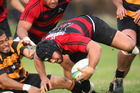 Whakarewarewa will host Mount Maunganui for a spot in the Baywide semifinals. Above is Whaka player Doug Edwards. Photo / Ben Fraser