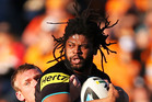 Jamal Idris has been in great form lately for the Penrith Panthers. Photo / Getty Images