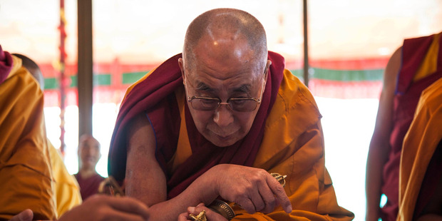 'Instead of living my day like I was the Dalai Lama undercover, I lived my day like a drunk Dalai Lama undercover on a very, very, very bad ...'. Photo / AP