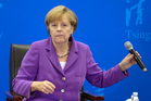 German Chancellor Angela Merkel. Photo / AP