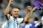 Javier Mascherano knows the eyes of a nation rest upon the Argentinian team. Photo / AP
