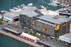ASB North Wharf cost $134 million but is now worth $162.2 million -- a $28.2 million gain for Kiwi Income Property Trust. Photo / Richard Robinson