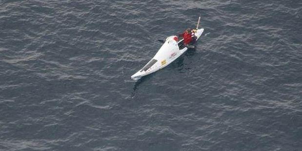 Transtasman kayaker Scott Donaldson.