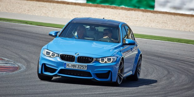 The M4 coupe (belwo) and M3 sedan come with nearly $20,000 of additional equipment as standard.  BMW M4  BMW M3