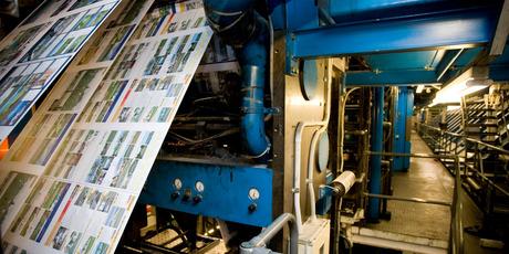 APN Print located in Ellerslie. Photo / Dean Purcell.