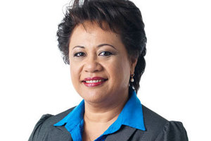 NZ First MP Asenati Lole-Taylor.
