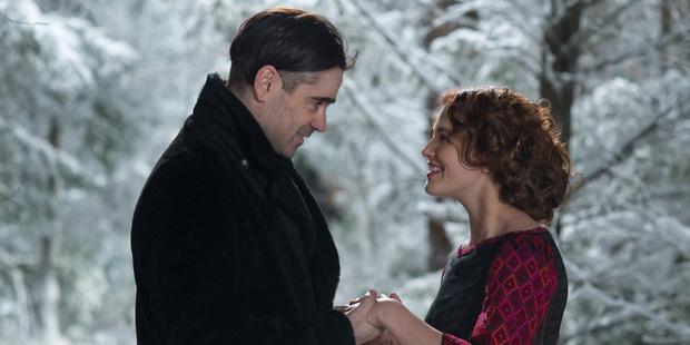 Colin Farrell stars alongside Jessica Brown Findlay in Winter's Tale.
