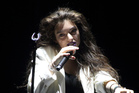 Lorde on stage earlier this year in the United States.(Photo by Owen Sweeney/Invision/AP)