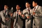The Musical Island Boys barbershop quartet.