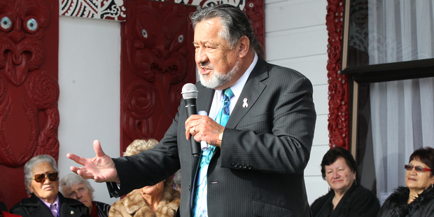 Maori Affairs Minister Pita Sharples said Te Matawai would see iwi representatives from each of the seven dialectal regions lead the different agencies. Photo / APN