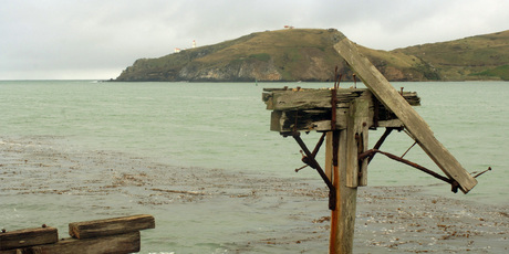 Otago Harbour heads, Dunedin. Photo / File