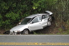 Crash on SH1 between Pakaraka and Moerewa, January 28, 2011. The AA is using Facebook to remind parents of the risks their teen face while on their restricted licence. Photo / NZH Archive