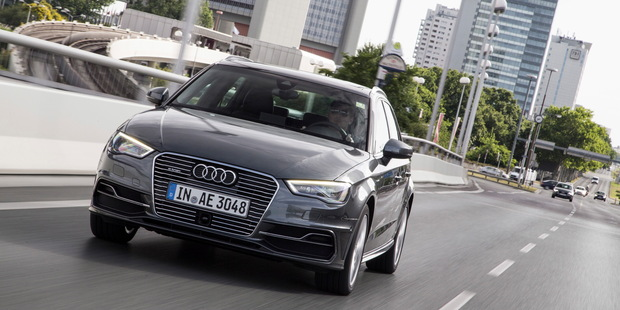 The Audi A3 E-Tron proves Audi is keen to enter the EV market. Photo / Supplied