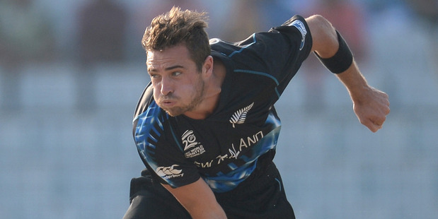 New Zealand fast bowler Tim Southee. Photo / Getty Images