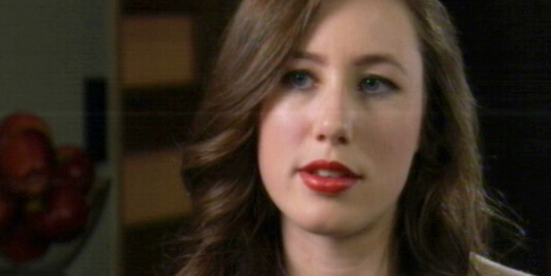 Tania Billingsley, who has accused Rizalman of sexual assault, appeared on TV this week. Photo / TV3