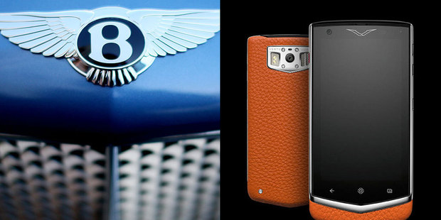 Bentley are teaming up with Luxury phone makers Vertu to make a range of smartphones.