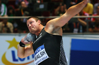 Kiwi shot putter Tom Walsh. Photo / Getty Images
