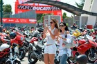 Thousands of bikers and their bikes are set to attend World Ducati Week this year. Photo / Supplied