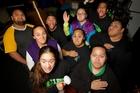 Manurewa based kapa haka group called Te Tai Tonga. Photo /Sarah Ivey