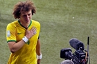 David Luiz will live with humiliation. Photo / AP