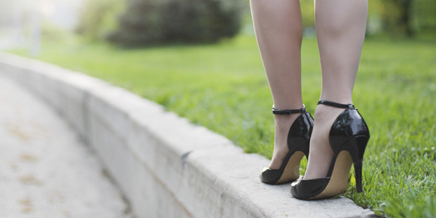 High heels are more dangerous than gumboots. Photo / Thinkstock