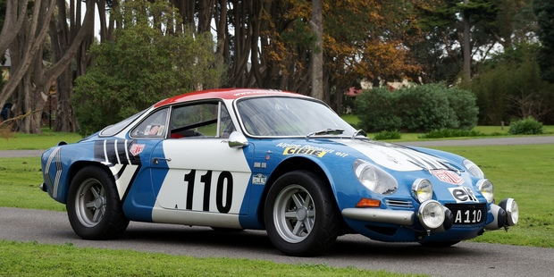 Arguably one of the greatest rally cars of all time, this restored Renault Alpine A110 Coupe is up for auction in Melbourne later this month. Photos / Supplied