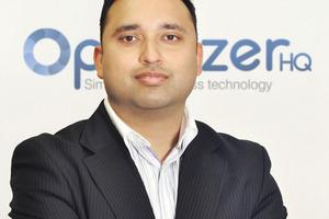 Optimizer chief executive, Manas Kumar.
