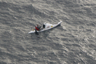 Scott Donaldson on his transtasman kayaking challenge. SUPPLIED