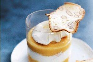 Lemon curd trifles. Photo / Donna Hay Magazine