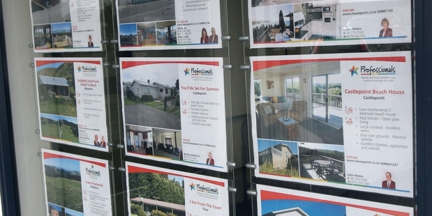 Fewer Hawke's Bay homes are coming on to the market.