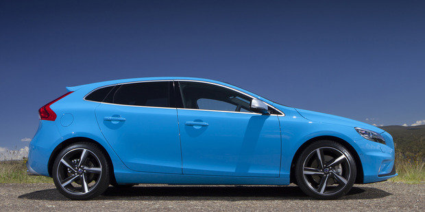 The Volvo V40 T5 R is right up there if you're looking for a sporty European five-door