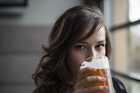 Beer drinking is not just for the boys. Photo / Thinkstock