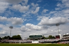 A day at Lord's is far more therapeutic than watching a baby being born. Photo / AP