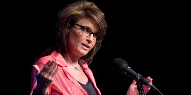 Sarah Palin is succeeding only in remaining a controversial figure. Photo / AP